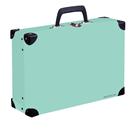 Kufřík lamino hranatý okovaný PASTELINI - zelený