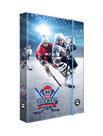 Desky na sešity s boxem A4 - Hokej
