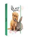 Desky na sešity s boxem A4 Jumbo - Pets