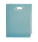 Box na sešity A4 PP s uchem - modrý