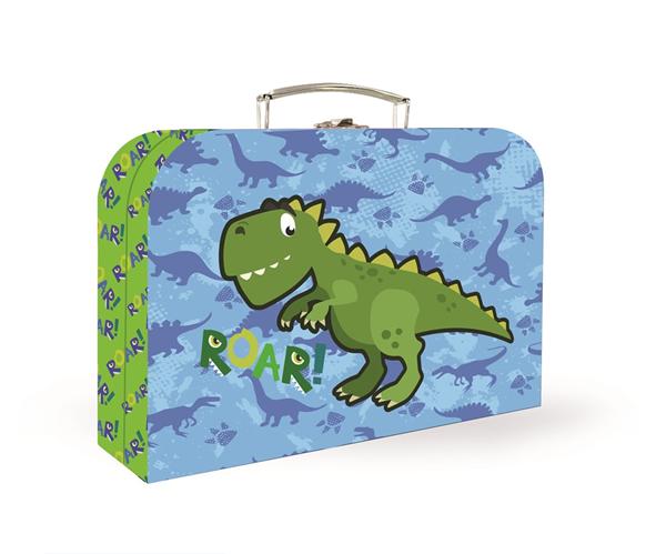 Dětský kufřík lamino 25 cm - Dino