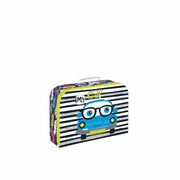 Dětský kufřík lamino 25 cm - Autíčko