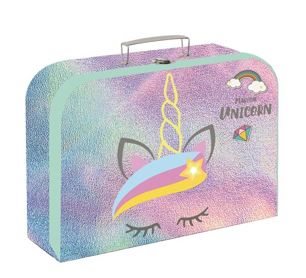 Dětský kufřík lamino 34 cm - Magical unicorn