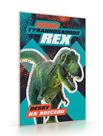 Desky na abecedu - Dino Tyrannosaurus Rex