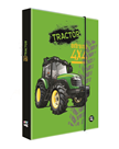 Desky na sešity s boxem A5 - Traktor 2021