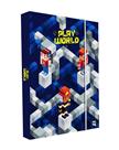 Desky na sešity s boxem A4 - Playworld