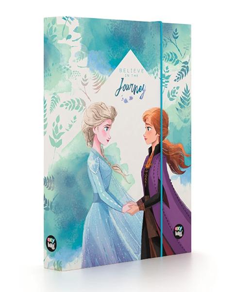 Desky na sešity s boxem A5 - Frozen 2/Ledové království 2 2021