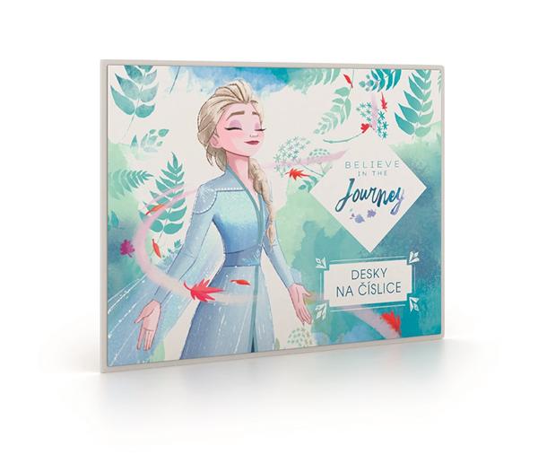 Desky na číslice - Frozen 2/Ledové království 2 2021