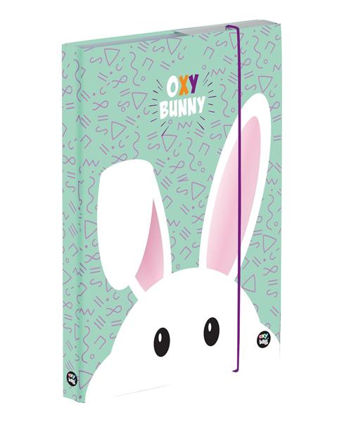 Desky na sešity s boxem A5 Jumbo - Oxy Bunny