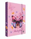 Desky na sešity s boxem A5 Jumbo - Motýl / Butterflies 2021
