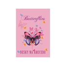 Desky na abecedu - Motýl / Butterflies 2021