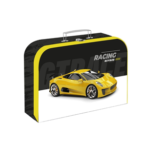 Dětský kufřík lamino 34 cm - Racing / Auto 2021