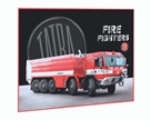 Podložka na stůl 60 × 40 cm - Tatra - hasiči