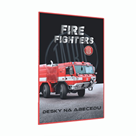 Desky na abecedu - Tatra - hasiči