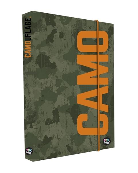 Desky na sešity s boxem A4 - Camo 2021