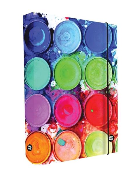 Desky na sešity s boxem A5 - Barvy