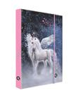 Desky na sešity s boxem A5 - Hello unicorns