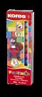 Kores Plastelína 10×20 g, 10 barev