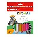 Kores Trojhranné pastelky Kromas - 24 barev