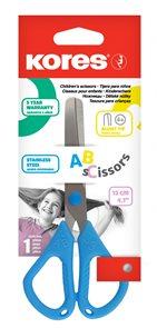 Kores Dětské nůžky ABC 12 cm - mix barev