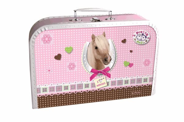 Dětský kufřík 35 cm - Pretty Pets - Kůň