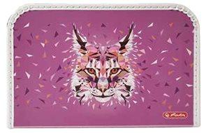 Herlitz Dětský kufřík 35 cm - Wild Animal Rys