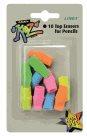 Linex Nasazovací pryž na tužku - 10 kusů mix barev