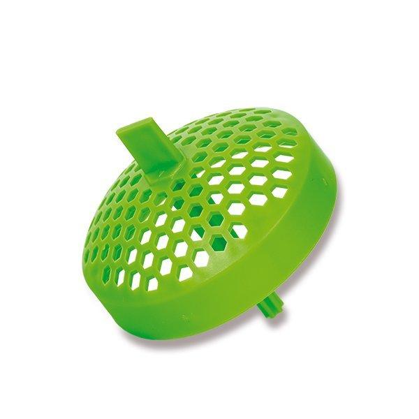 Sítko šejkr do zdravé lahve - zelené