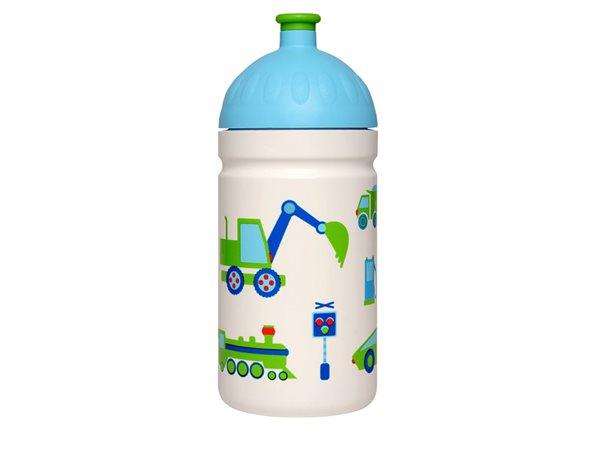 Zdravá láhev 0,5 l - Autíčka
