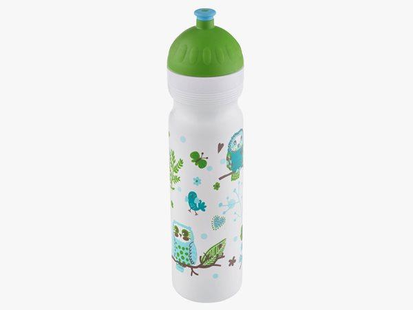 Zdravá láhev 1 l - Sovy