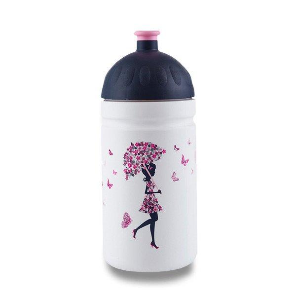 Zdravá láhev 0,5 l - Dívka s deštníkem