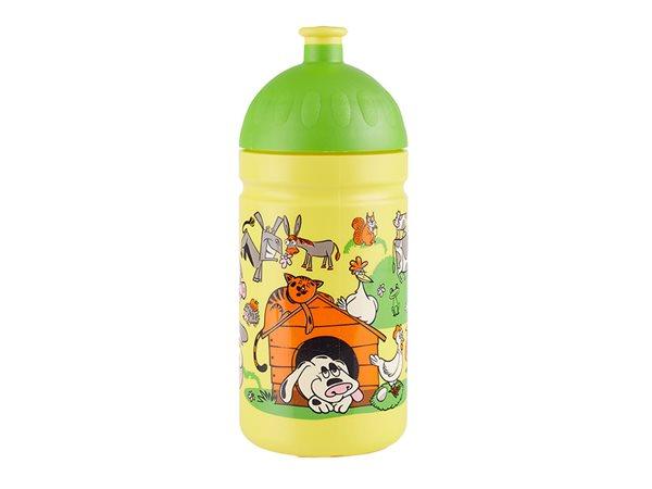 Zdravá láhev 0,5 l - Veselý dvorek