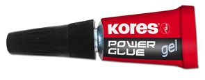 Kores Vteřinové lepidlo Power Glue Gel 3x1g