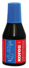 Kores Razítková barva 28 ml - modrá