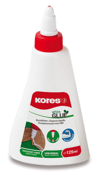 Kores White glue Tekuté lepidlo 125ml