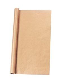 Balicí papír v roli, hnědý, 1 × 10 m