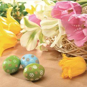Stil Ubrousky 33 x 33 Velikonoce - Velikonoční zátiší