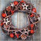 Stil Ubrousky 33 x 33 - Vánoční věnec