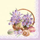 Stil Ubrousky 33 x 33 Velikonoce - Jarní kytice krokusu