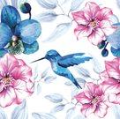 Stil Ubrousky 33 x 33 dekorativní - Kolibřík