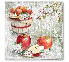 Stil Ubrousky 33 x 33 dekorativní - Jablíčka