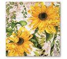 Stil Ubrousky 33 x 33 dekorativní - Slunečnice