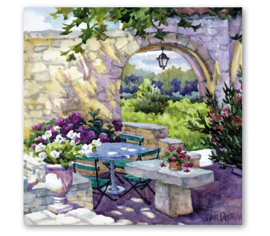 Stil Ubrousky 33 x 33 dekorativní - Letní posezení