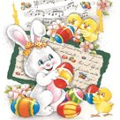 Stil Ubrousky 33 x 33 Velikonoce - Velikonoční zajíček