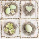 Stil Ubrousky 33 x 33 Velikonoce - Velikonoční dekorace