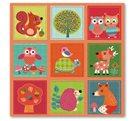 Stil Ubrousky 33 x 33 dekorativní - Patchwork zvířátka