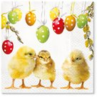 Stil Ubrousky 33 x 33 Velikonoce - Kuřátka