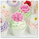 Stil Ubrousky 33 x 33 dekorativní - Cup cakes