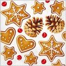 Stil Ubrousky 33 x 33 Vánoce - Perníčky