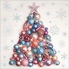Stil Ubrousky 33 x 33 Vánoce - Stromek z vánočních ozdob
